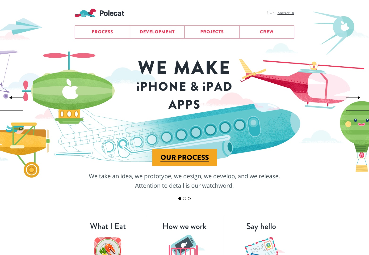 Desarrollo personalizado de aplicaciones para iPhone e iPad | Agencia Polecat