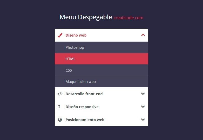 menu-despegable-estilo-acordeon-accordion-menu-codepen