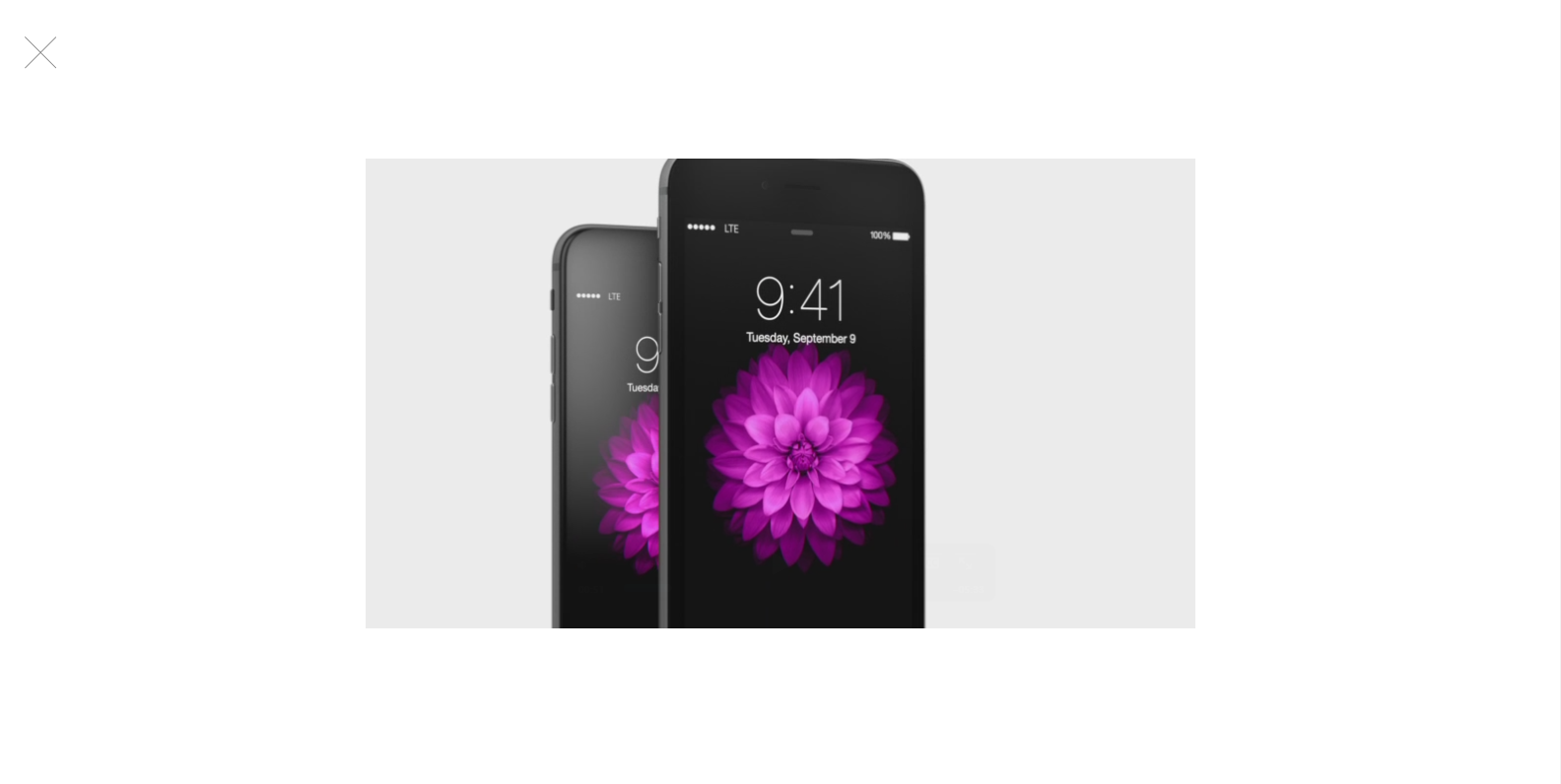 iPhone 6 promo video