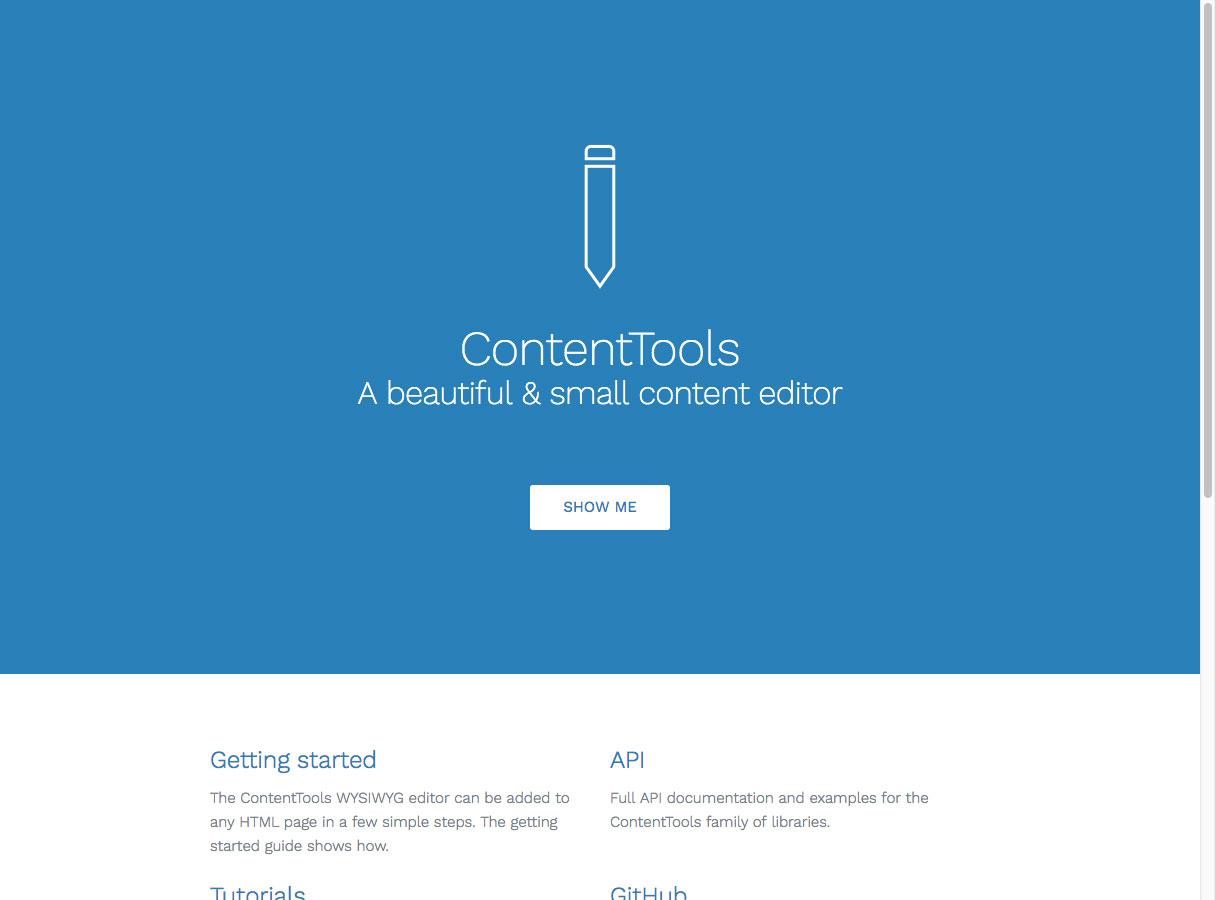 herramientas de contenido