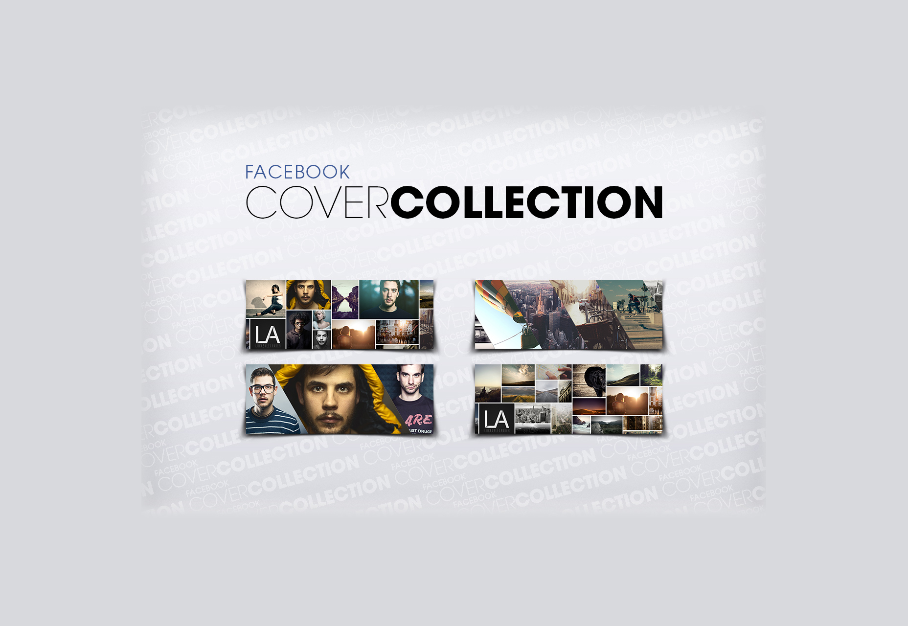 Facebook Cover PSD Templates Collection