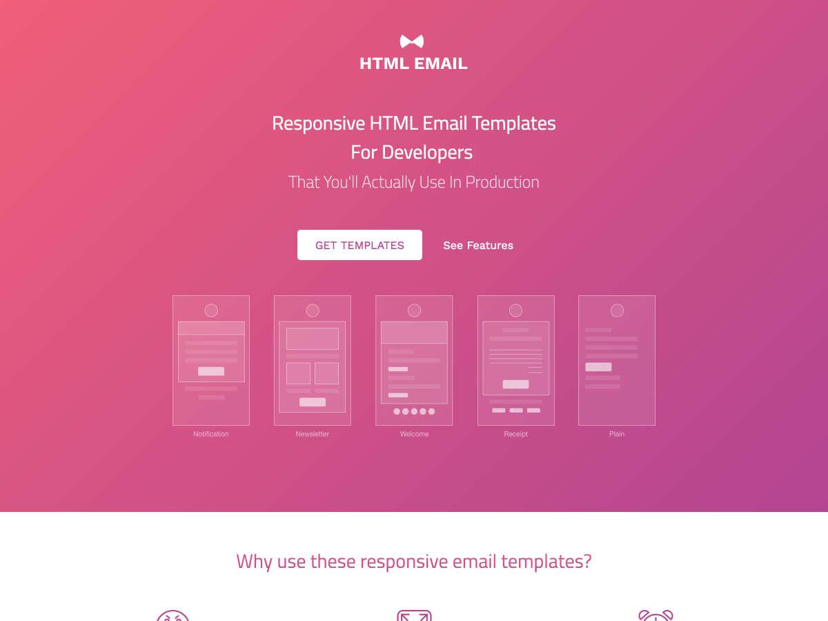 html correo electrónico