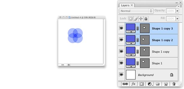 paso 3 en la creación de un patrón