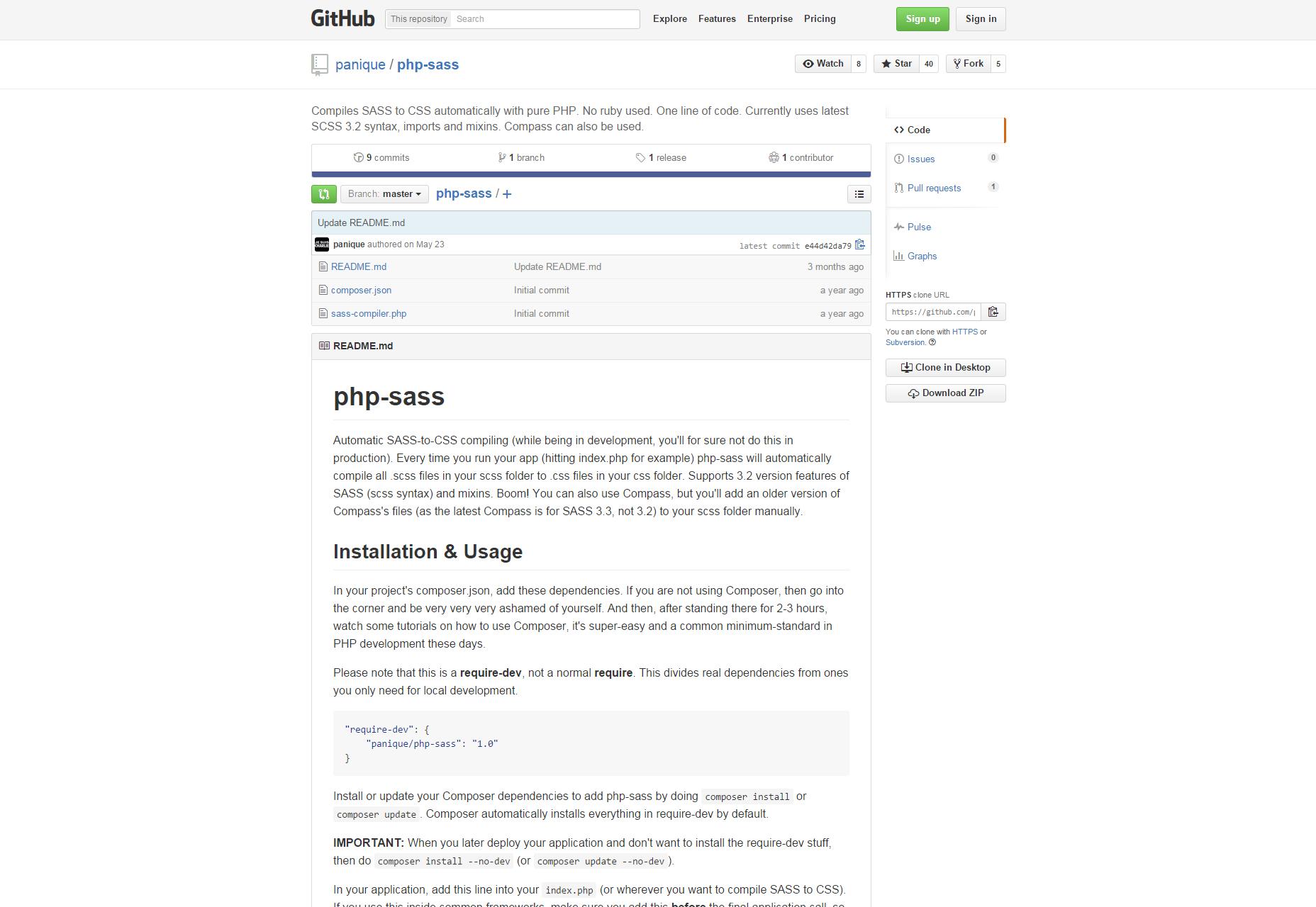 Panique: een PHP Sass naar CSS-compiler
