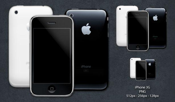 Iconos de iPhone 3G
