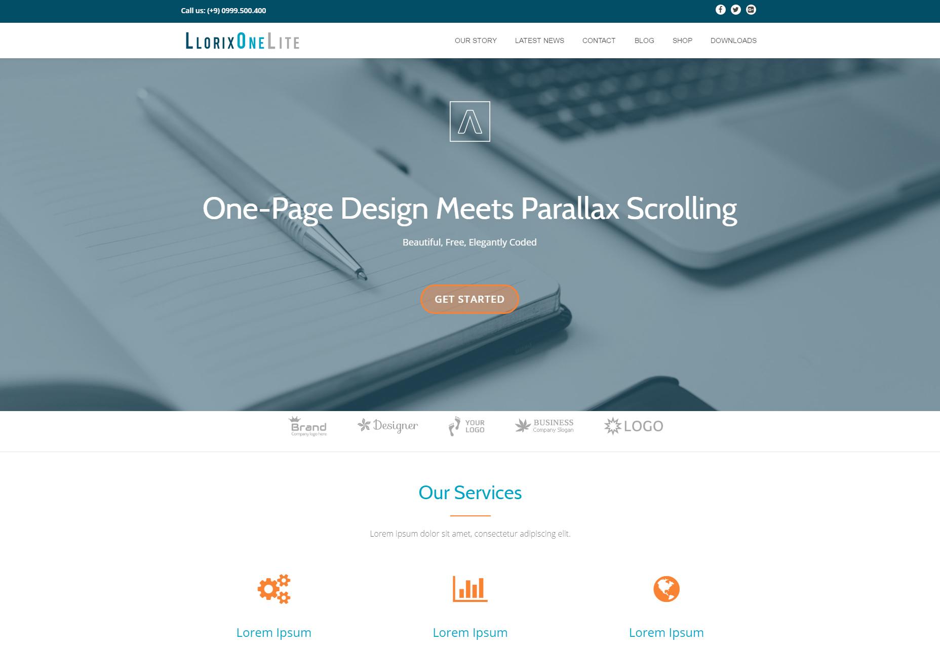 Llorix One Lite: toimiva WordPress-teema
