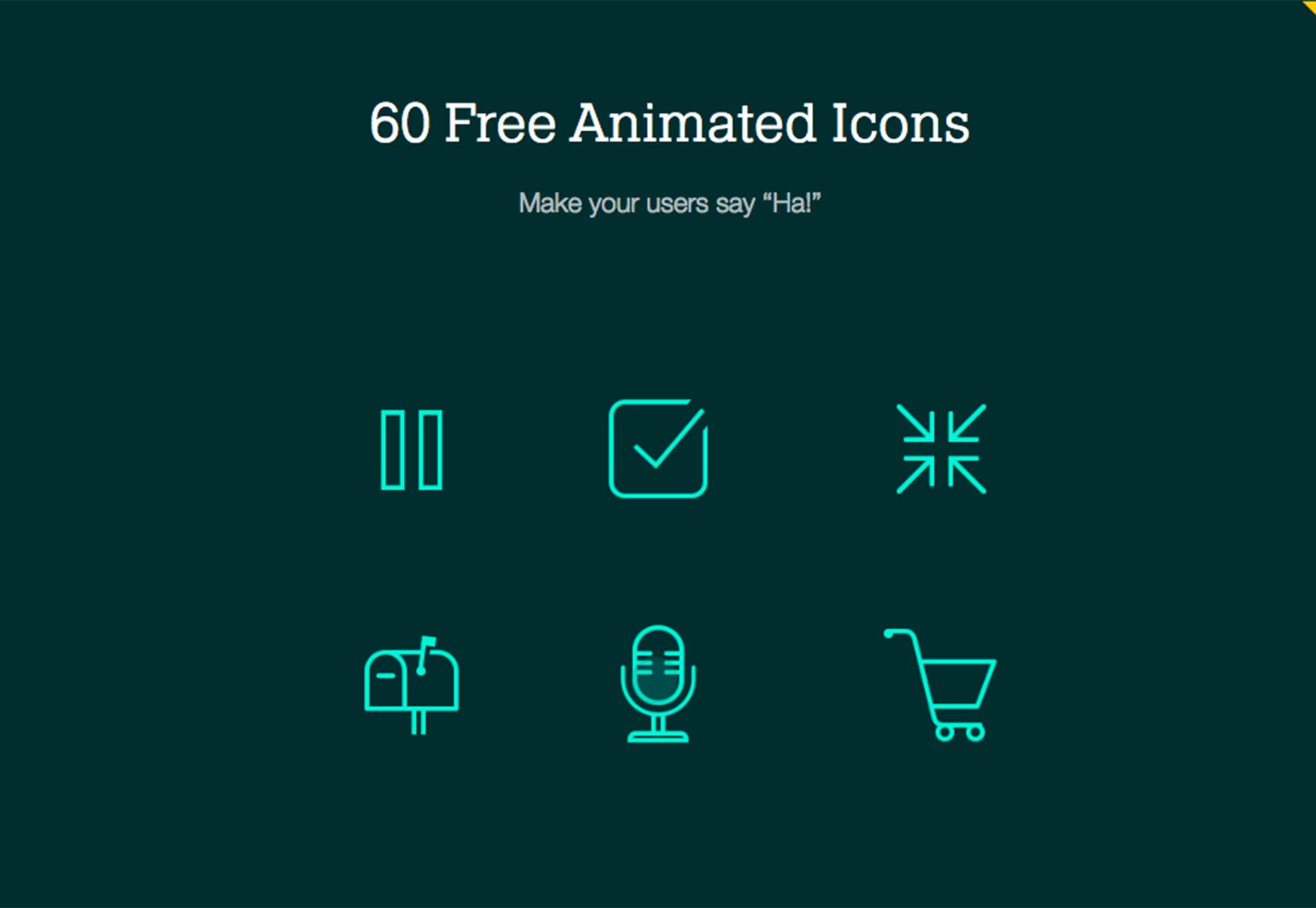 animované ikony