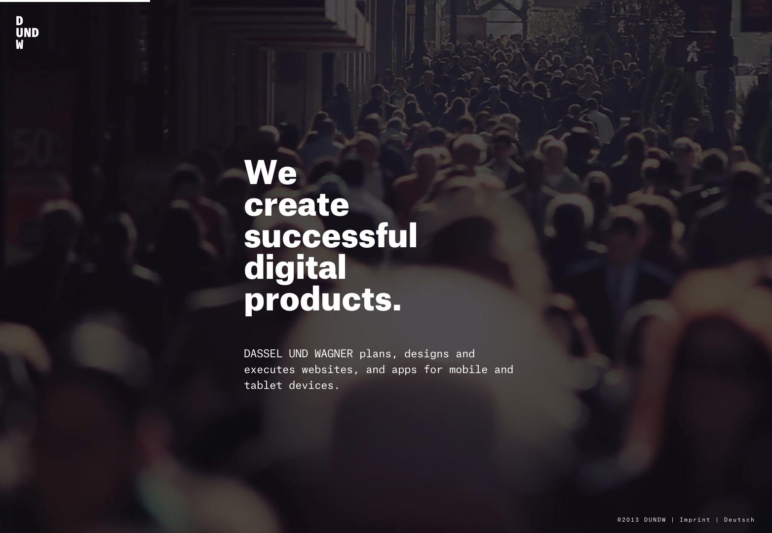 DASSEL UND WAGNER   Creamos productos digitales.