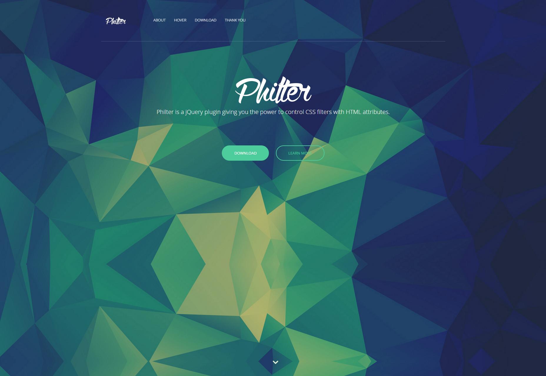 Philter: jQuery Plugin para filtros de imagen CSS