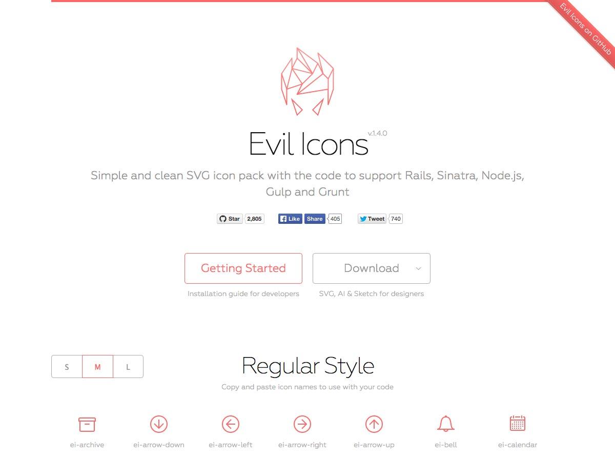 iconos malvados