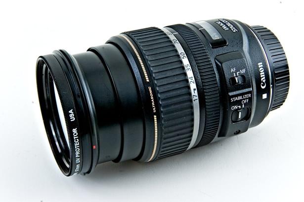 Estabilización de imagen de Canon