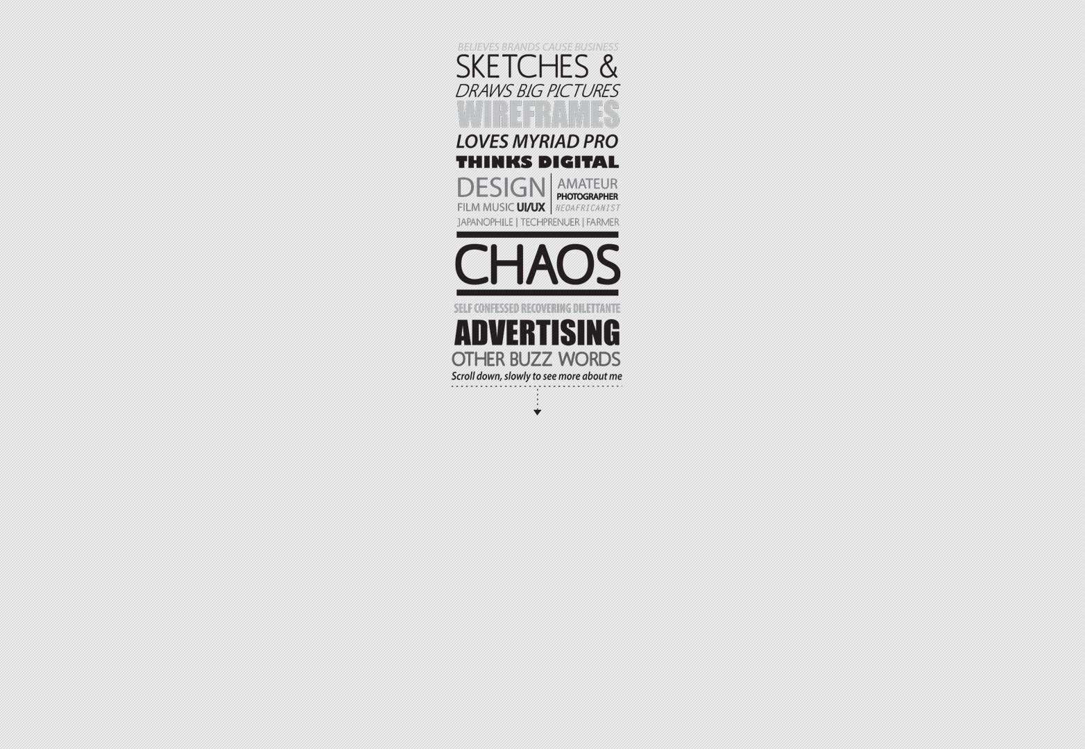 Chaos | @kibee