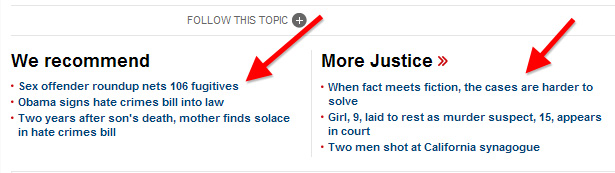 CNN.com recommended