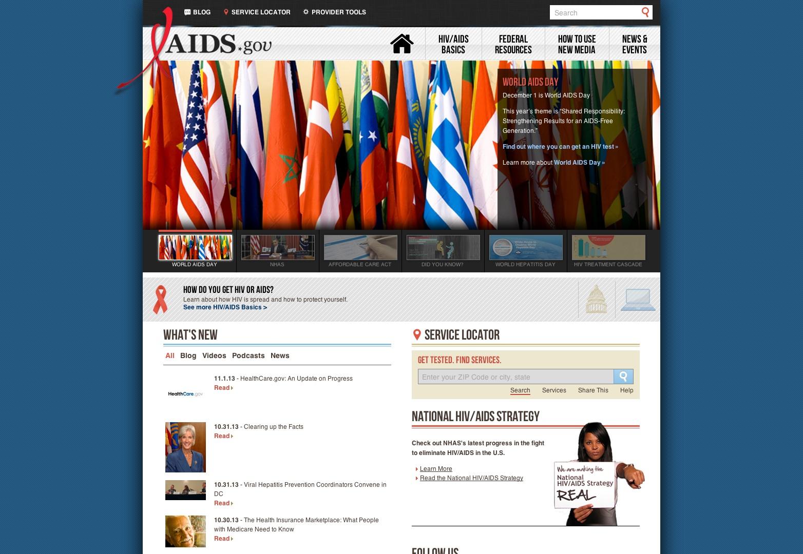 Bienvenido a AIDS.gov