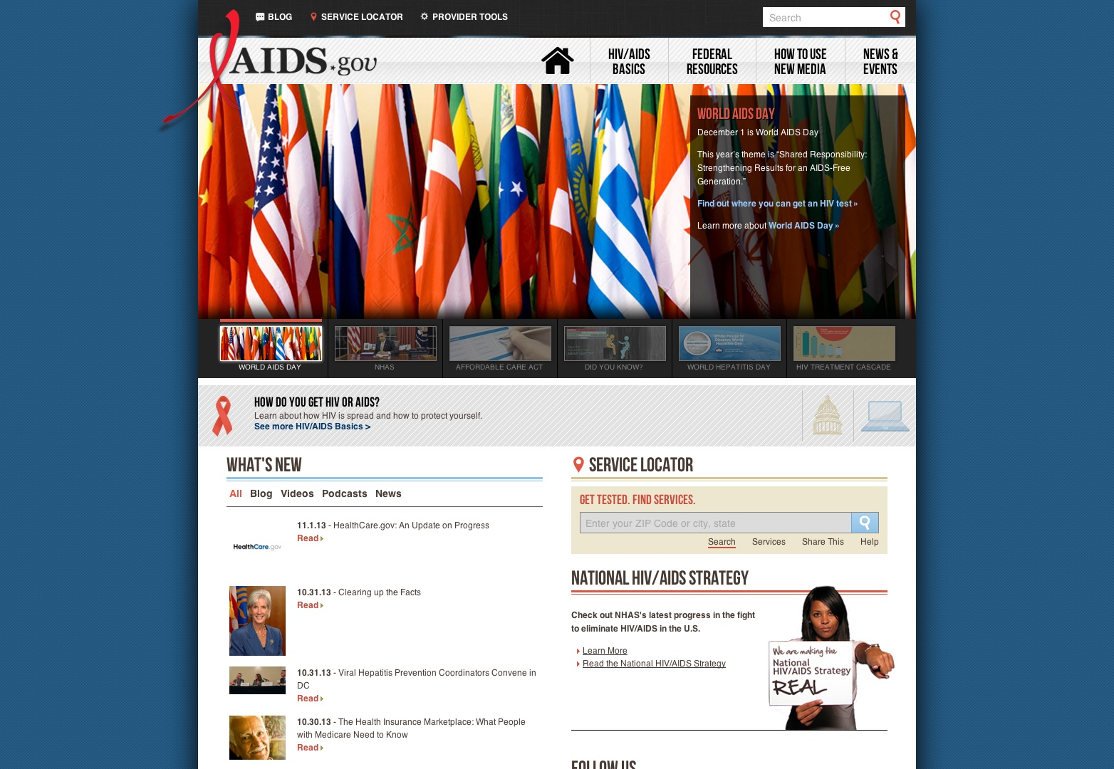 Tervetuloa AIDS.gov