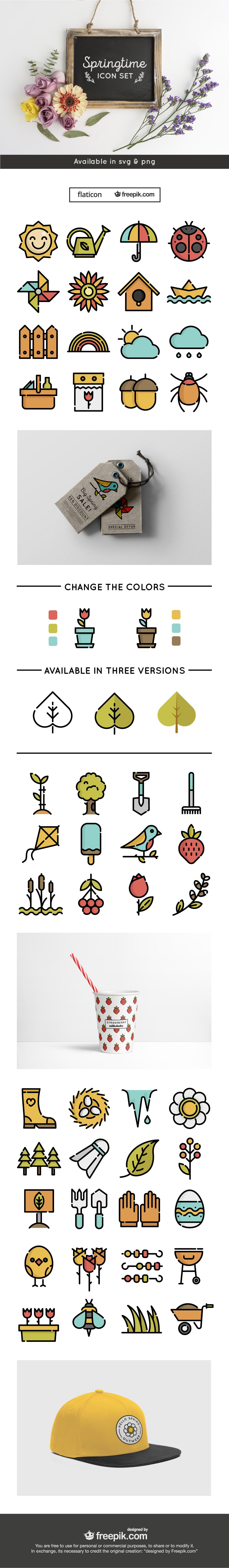 Cover_Springtime_Icon_Set