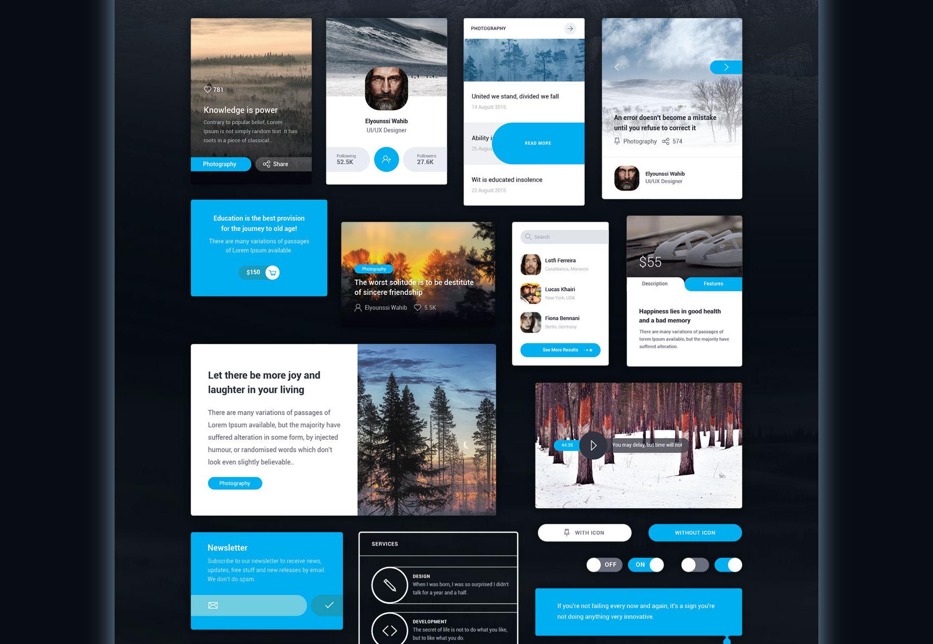Mayssam: Kit de interfaz de usuario web de estilo mínimo