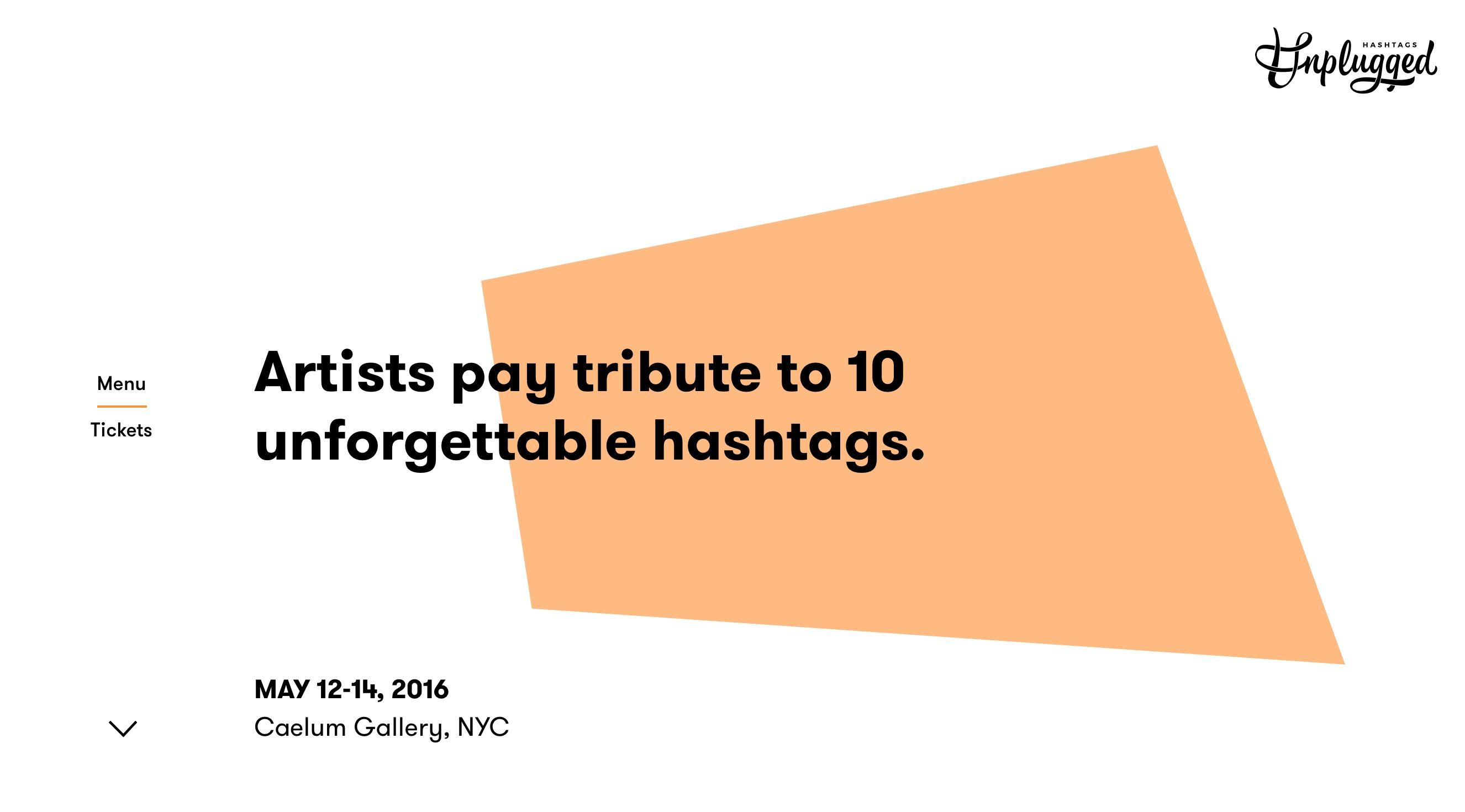 hashtags-unplugged