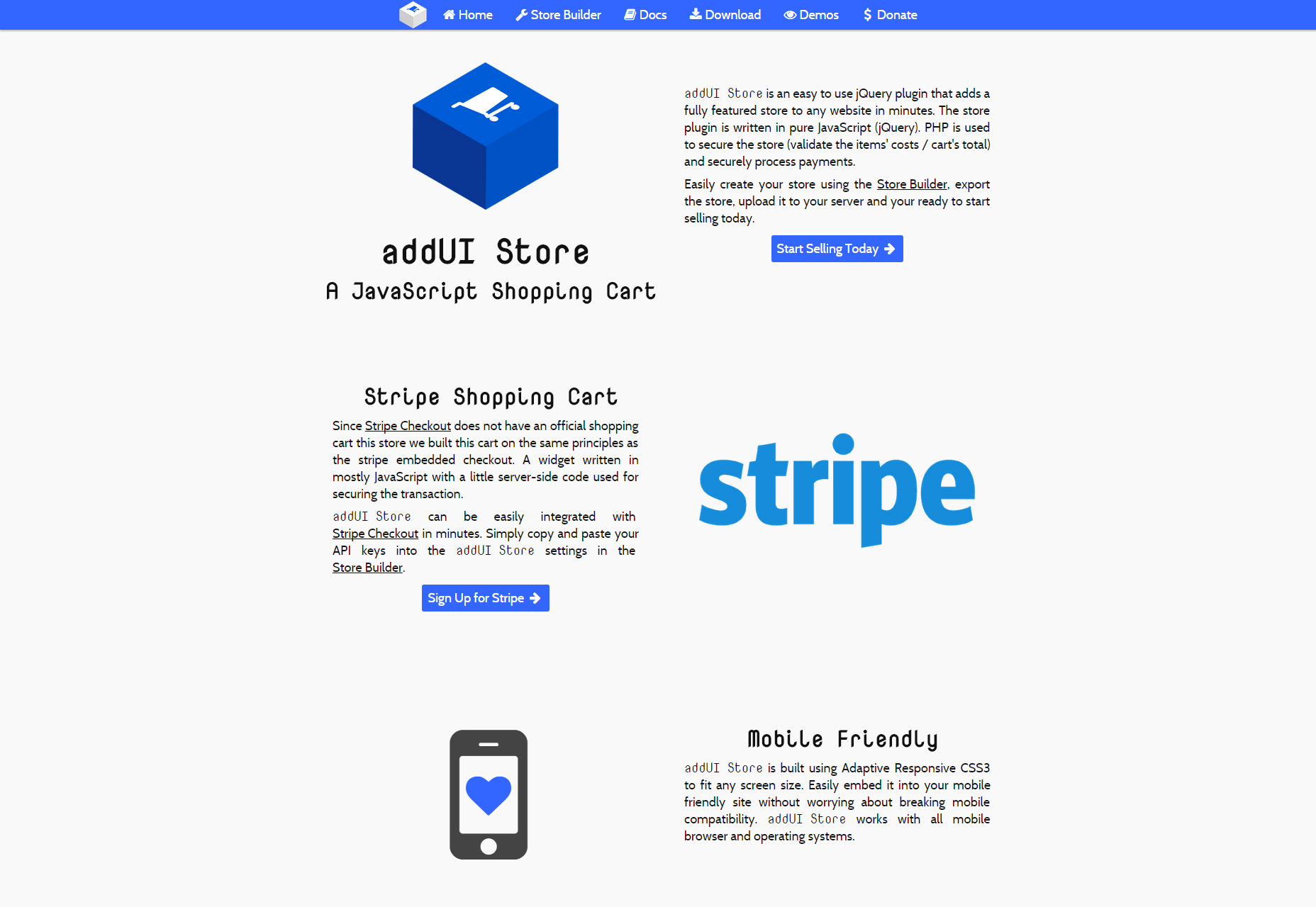 Tienda AddUI: un carrito de compras JavaScript