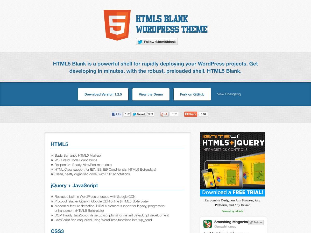 html5 en blanco