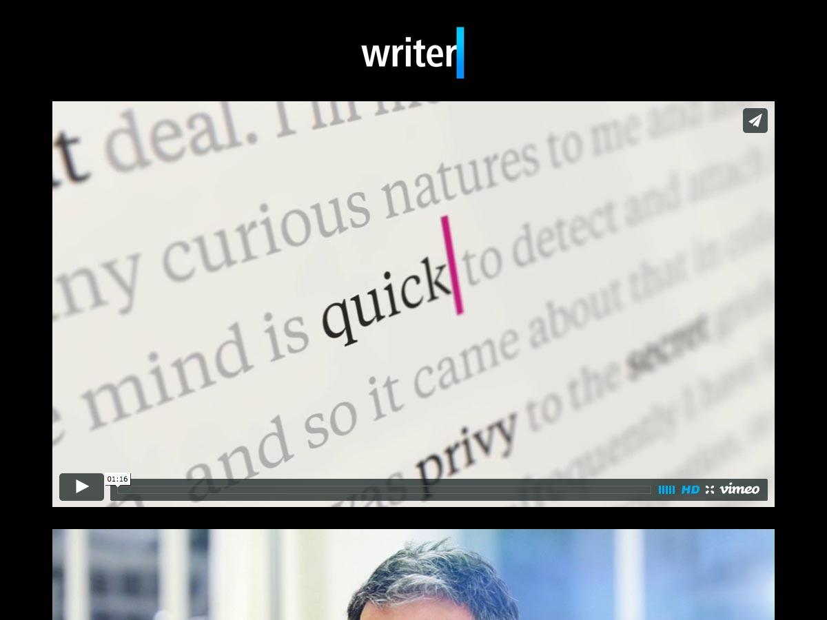 escritor pro