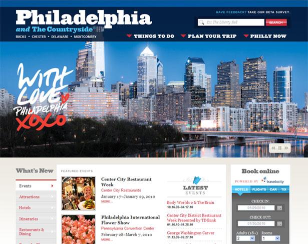 visitphilly.com uudistettiin